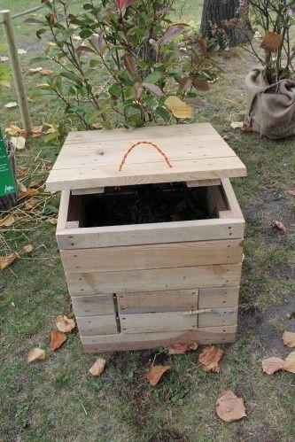 Construire un coffre compost en cette saison est aussi d - Petit jardin fruitier aulnay sous bois ...