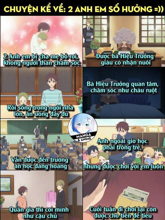 Ảnh chế Anime Comedy anime, Anime family, Gakuen babysitters