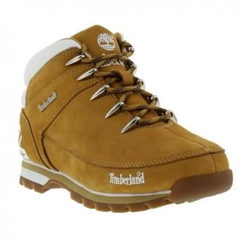 0079b7f7776 Timberland - Chaussures Euro Sprint Hiker Logo Homme - Wheat Camping And  Hiking