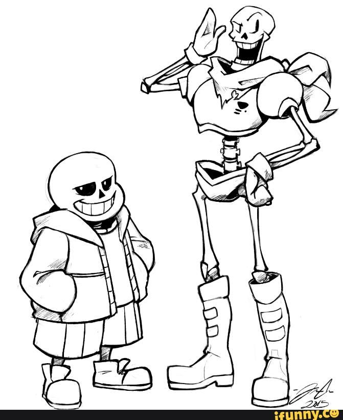 Sans Ifunny Coloring Pages Undertale Coloring Books