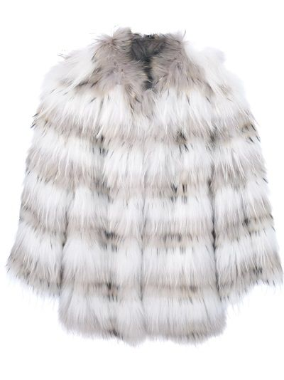 YVES SALOMON Fox Fur Jackets