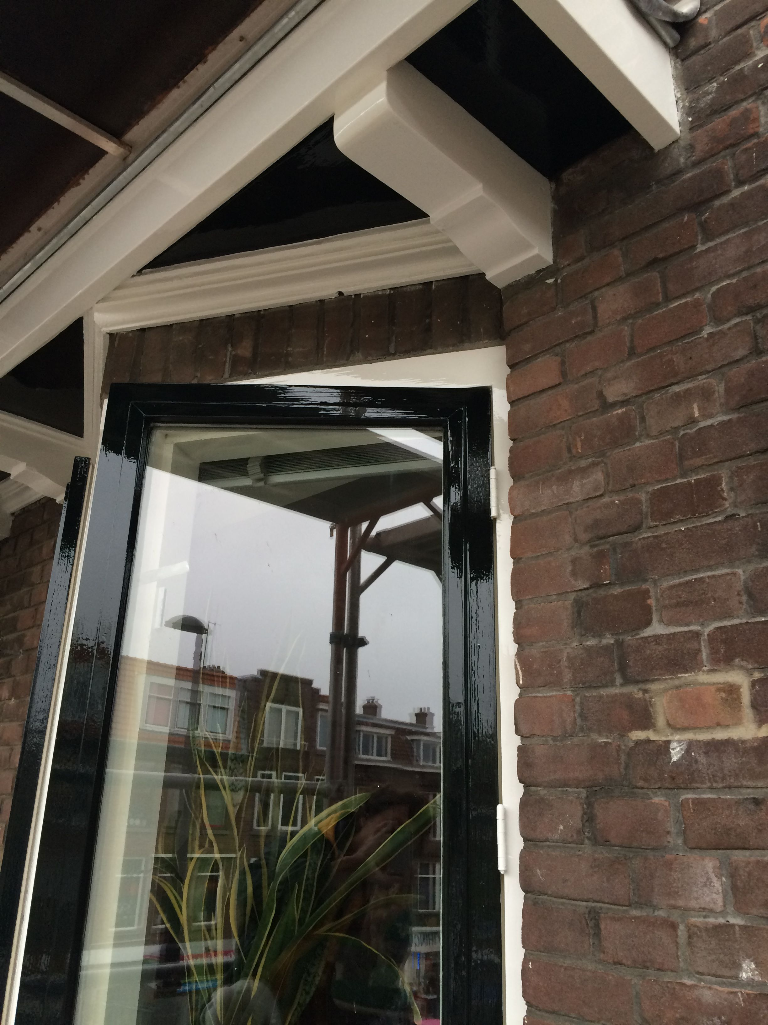 Beroemd Roc Schilderwerken buiten raam kozijn Rotterdam Sigma sikkens NL43