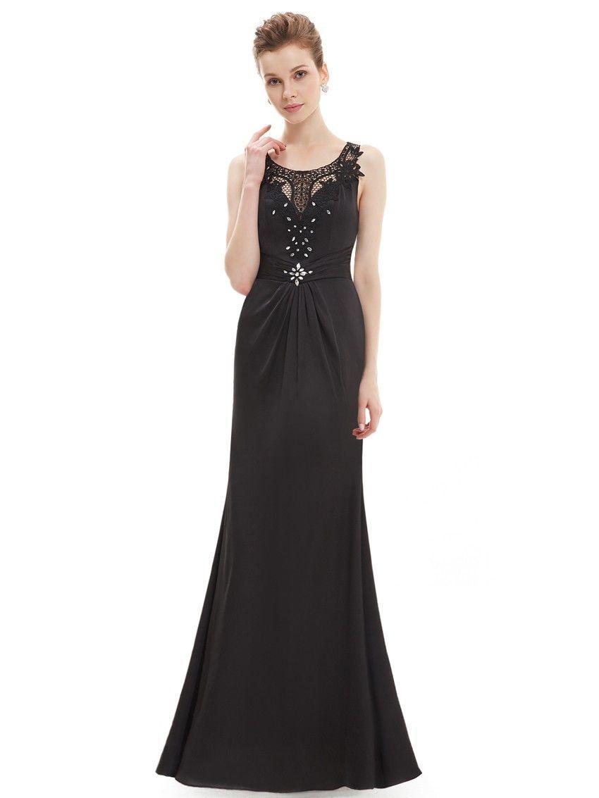 Party Kleid Elegantes Schwarzes Abendkleid (mit Bildern ...