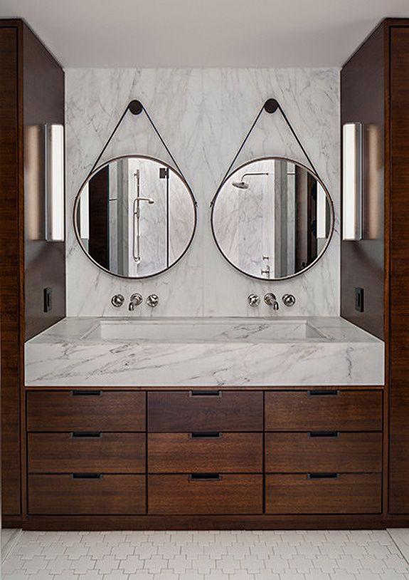 Oval Bathroom Mirrors Double Vanity