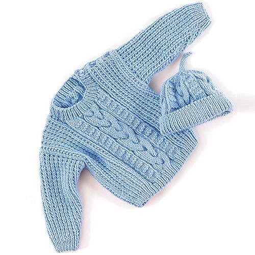 Aran Sweater & Hat - Free Pattern | joyero | Pinterest | Joyero