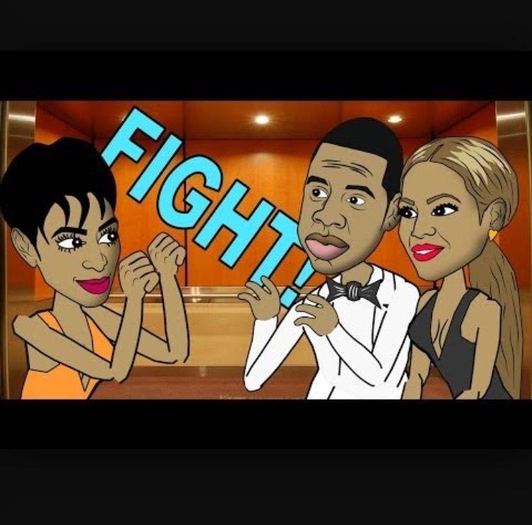 Solange, Jay-Z and Beyonce Elevator Fight jay-z Pinterest - best of jay z blueprint song cry