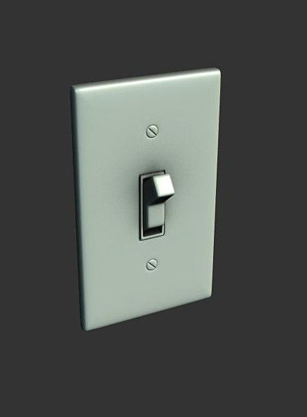 Wall light switch x 3d model 3d modeling pinterest light wall light switch x 3d model aloadofball Choice Image