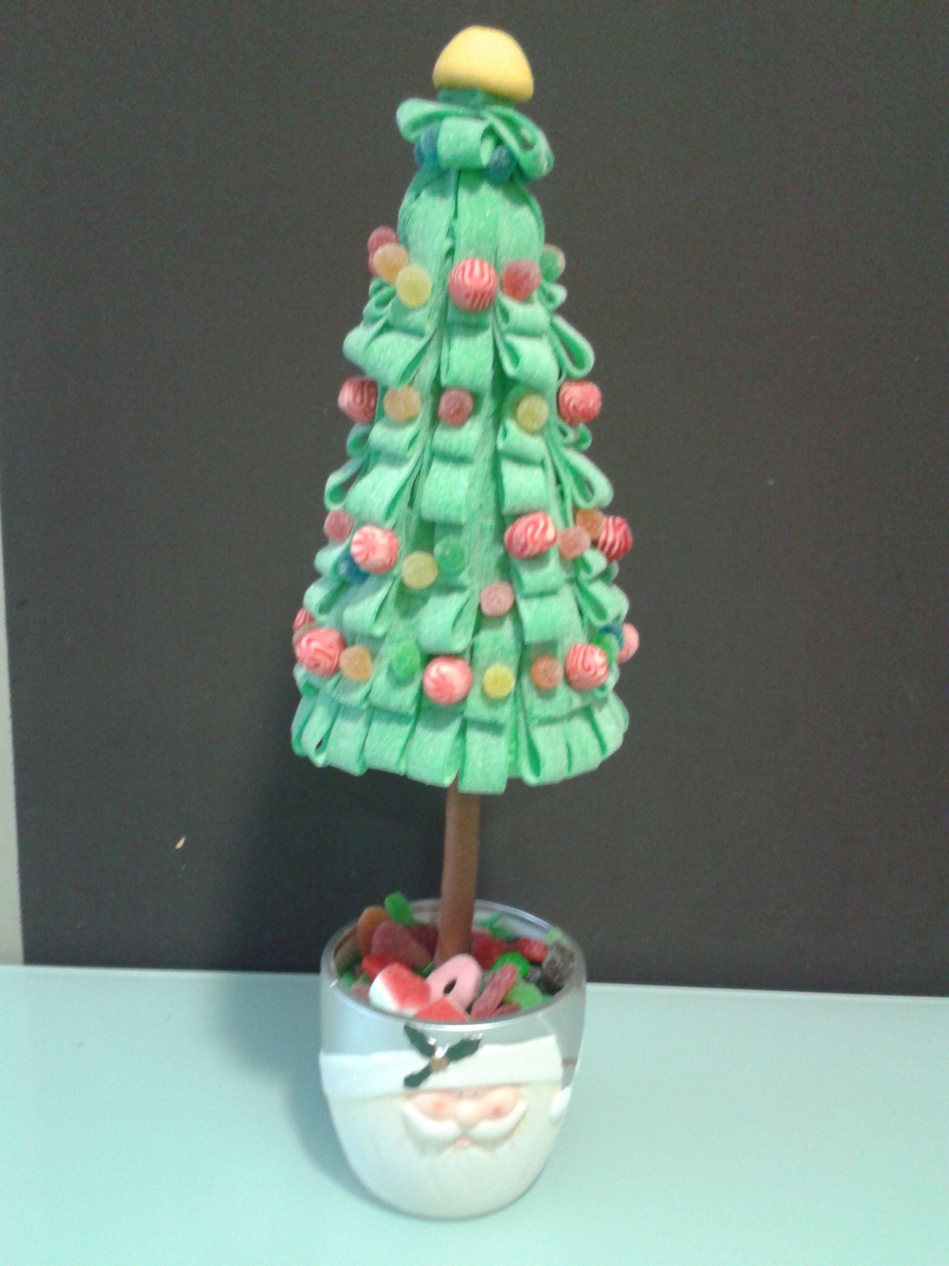 Árbol de navidad de golosinas
