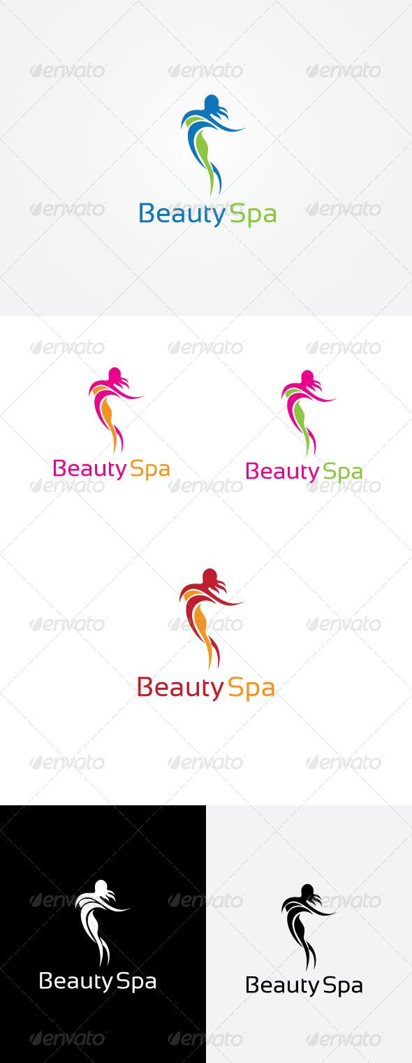 Spa wellness logo  Spa Wellness Logo | Logo templates