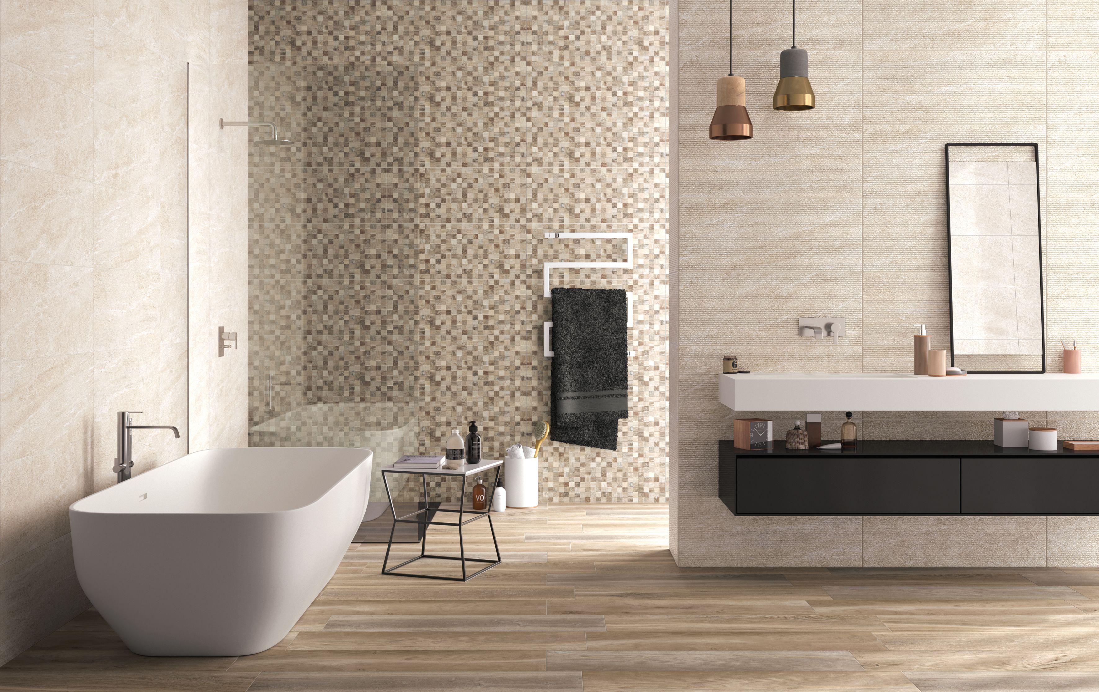 Carrelage Mural Salle De Bain Frazzi ~ carrelage salle de bain d cor effet pierre rub 32×80 5 lias naturel