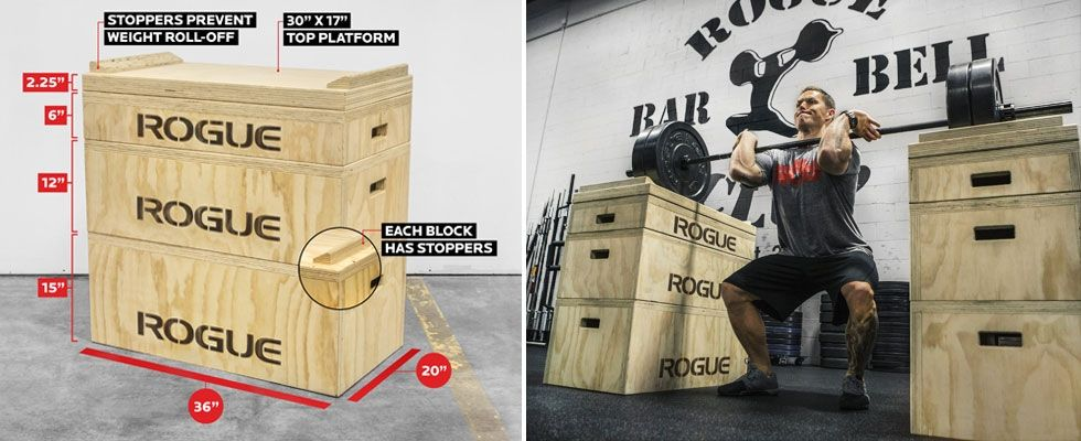 Rogue wood jerk blocks american made jerk boxes get up