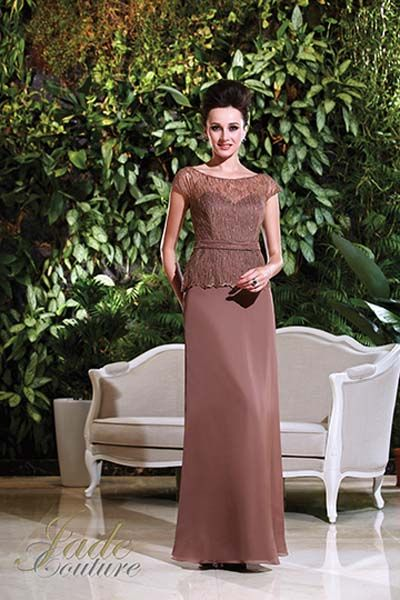 Maxi Mother of the Bride Dress - Chiffon One-Shoulder A-line Long ...