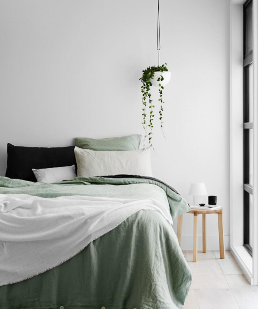 16 Relaxing Bedroom Designs For Your Comfort: Cultiver Bed Linen By Norsu Interiors // COLOR In The