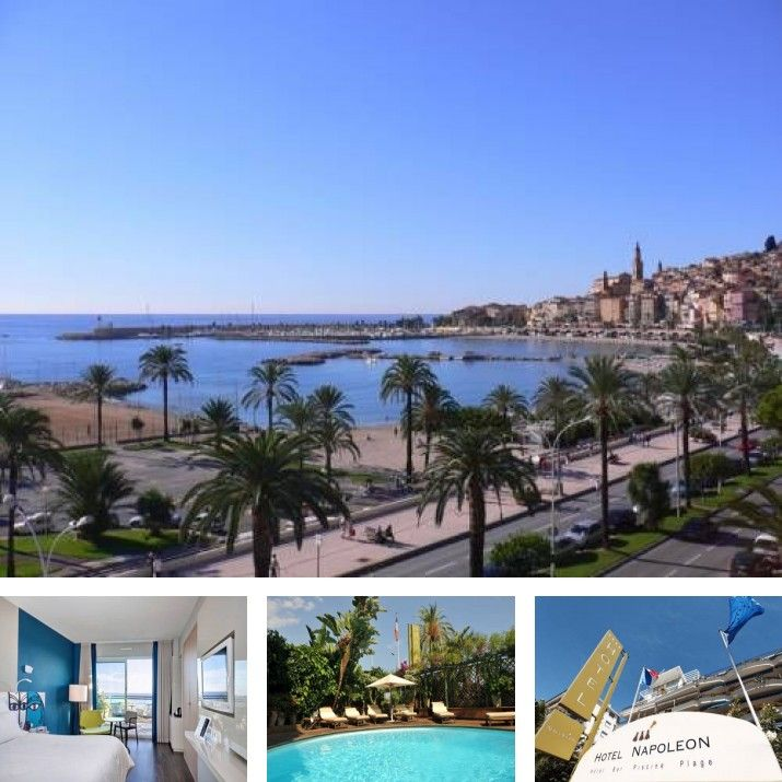 Hotel in menton alpes maritimes provence alpes c te d - Hotels in menton with swimming pool ...
