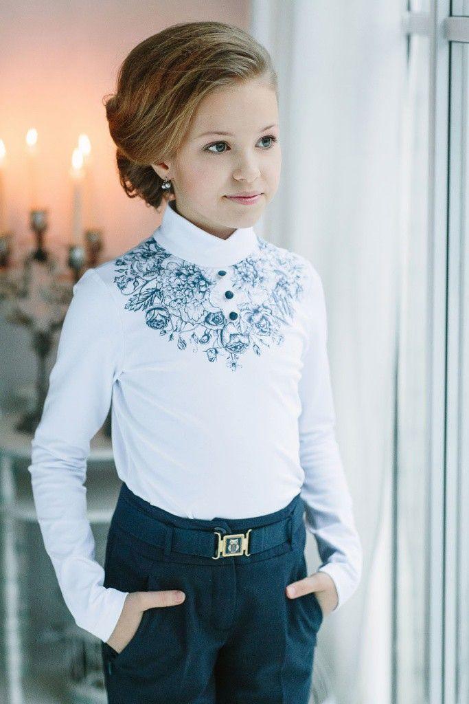 Фото 17*360*6-2 Блуза | Платья для маленьких девочек ...