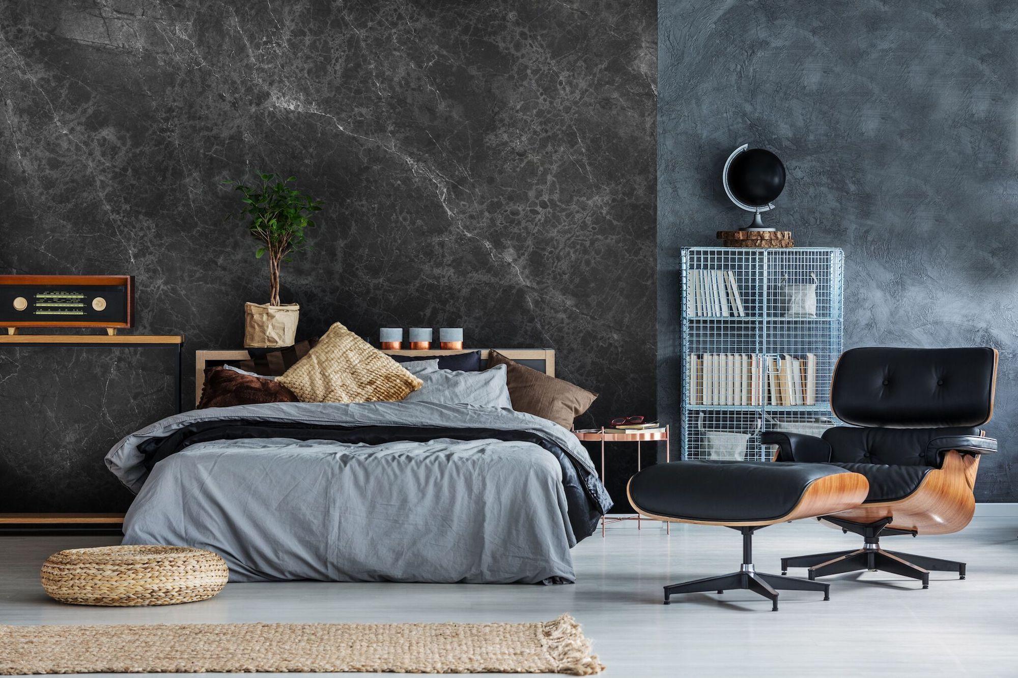 how to embrace wabi-sabi design in the home | Серые стены в