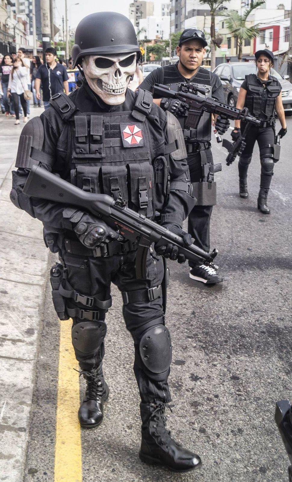 Conhecido Umbrella Corp. Soldiers - Zombiewalk Lima 2014 - cosplay | Cosplay  II69