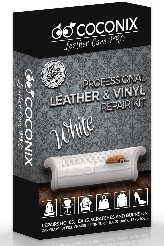 Coconix white leather and vinyl repair kit restorer of