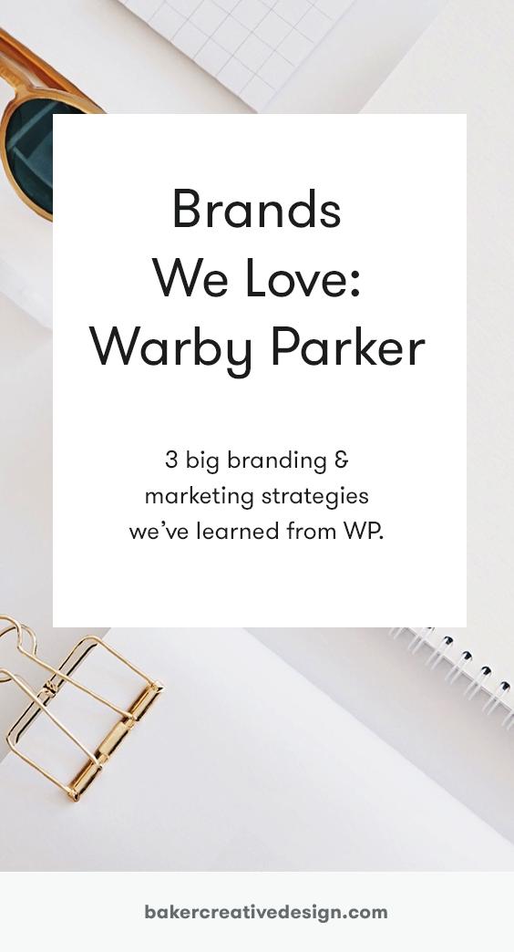warby parker marketing strategy