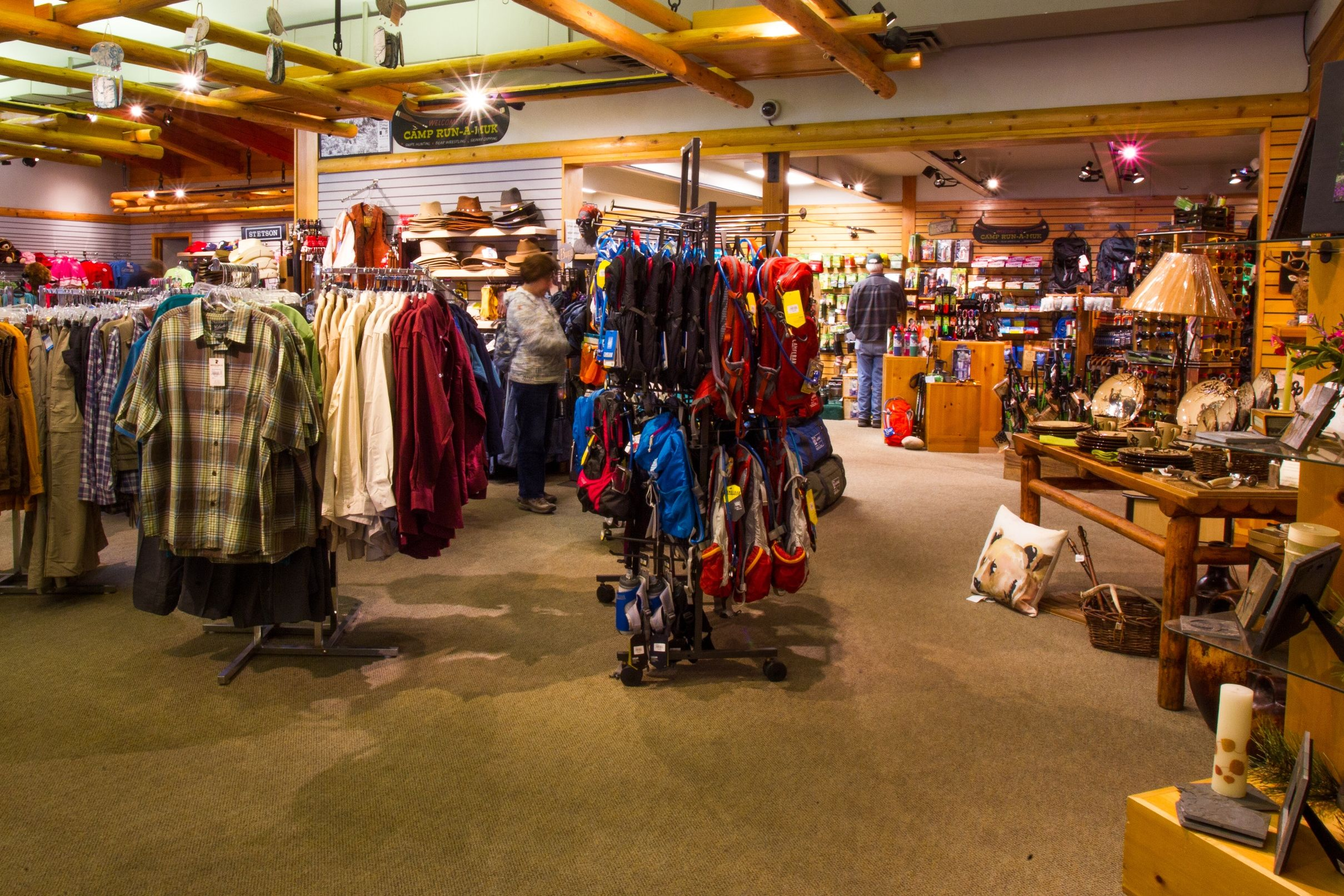 Colter Bay Village Gift Shop - General Store - Camping Supplies ...
