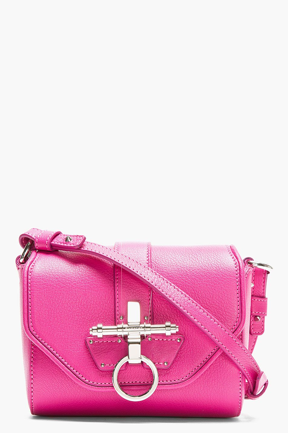 c9d6b5f5e5 Givenchy Pink Leather Obsedia Shoulder Bag