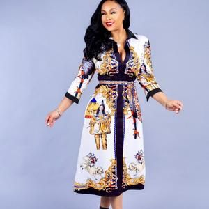 African Dresses For Women Robe Africaine 2019 New Style African Women Clothing Dashiki Fashion Print Cloth Dress Africa Clothing #africandressstyles