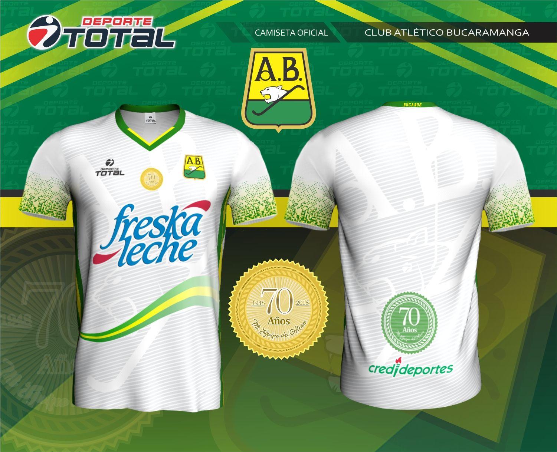 cbec17543a1f2 Atletico Bucaramanga Segunda Camiseta  Deporte Total - Empresa 100%  Santandereana  Deporte Total.