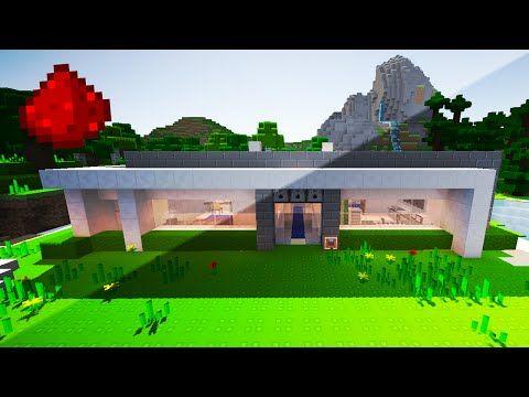 My Redstone House W Secret Rooms Hidden Redstone Security Defenses More Minecraft Redstone House Minecraft City Buildings Secret Rooms