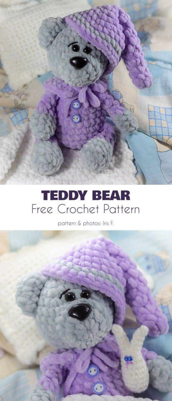 Adorable Bears, Free Crochet Patterns