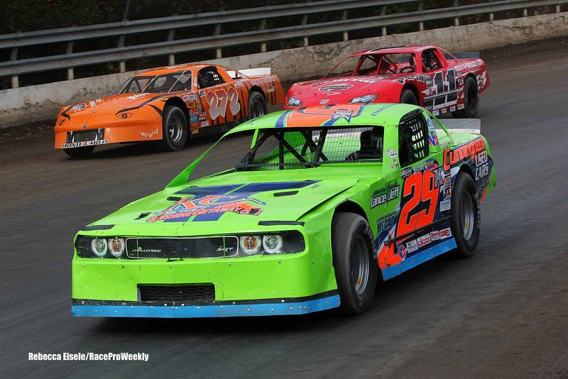 Super Dirt Week Xli 10 07 12 Pro Stock Feature Rebecca Eisele Photos Race Pro Weekly Photo Galleries Late Model Racing Racing Old Race Cars