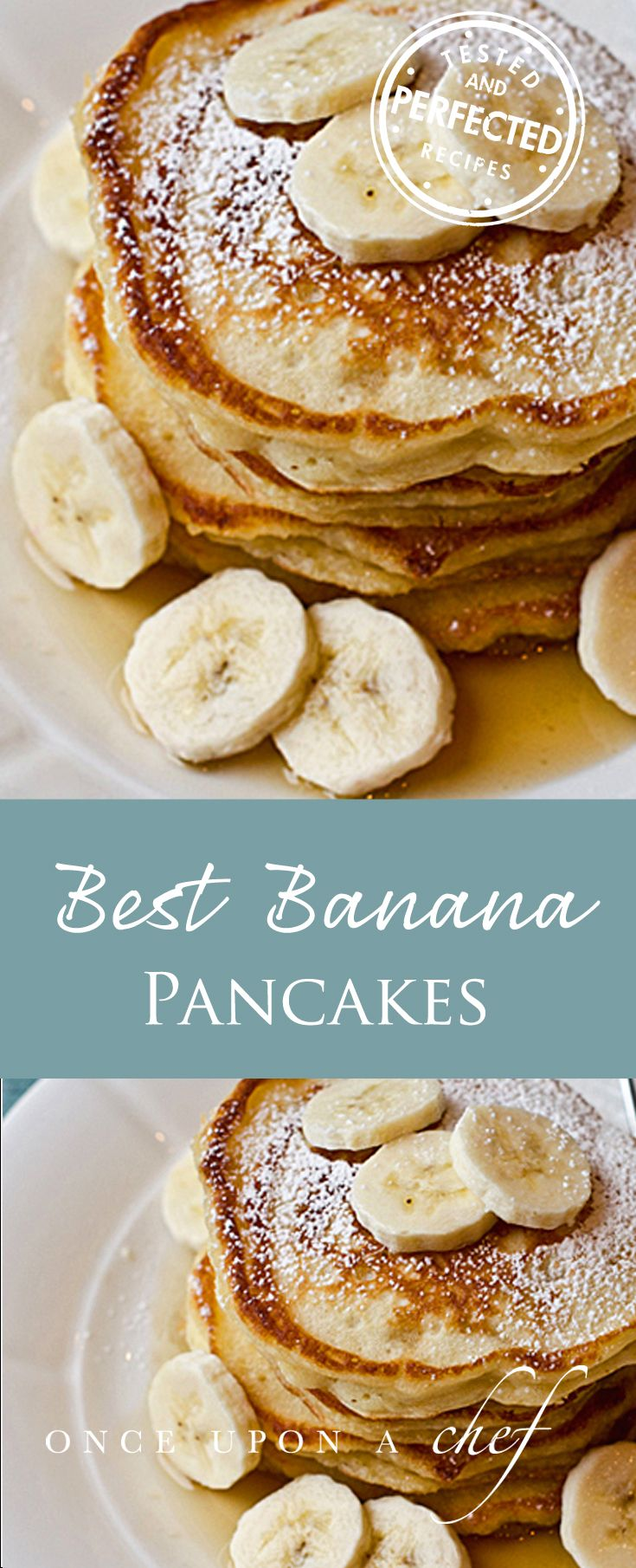 Banana Pancakes Once Upon A Chef Recipe Breakfast Banana Recipes Recipes