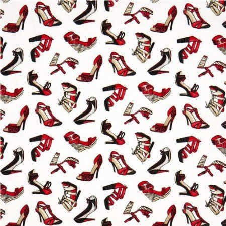 white ladies shoes designer fabric with high heels USA (per 0.5m multiple)  http://www.amazon.com/gp/product/B0095BS6ME/ref=as_li_ss_tl?ie=UTF8=1789=390957=B0095BS6ME=as2=authenticdown-20
