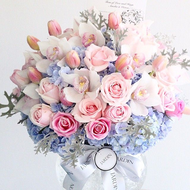 Pastel Flower bouquet. Jardin Flowers. | Blooms | Pinterest