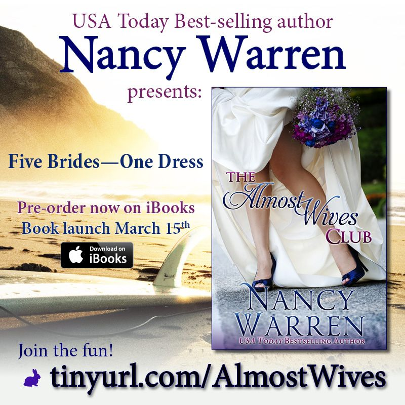 Do you love Nancy's Toni Diamond mysteries? Get ready for