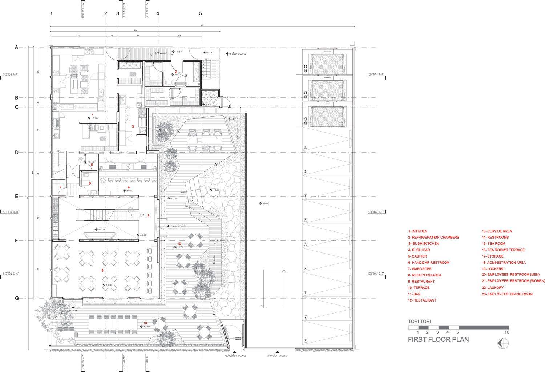 Gallery of Tori Tori Restaurant / Rojkind Arquitectos
