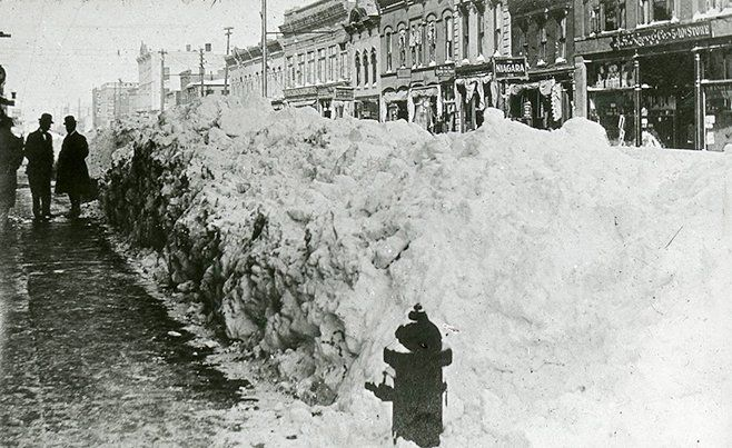 Blizzard Of 1909 Sioux Falls South Dakota Sioux Falls