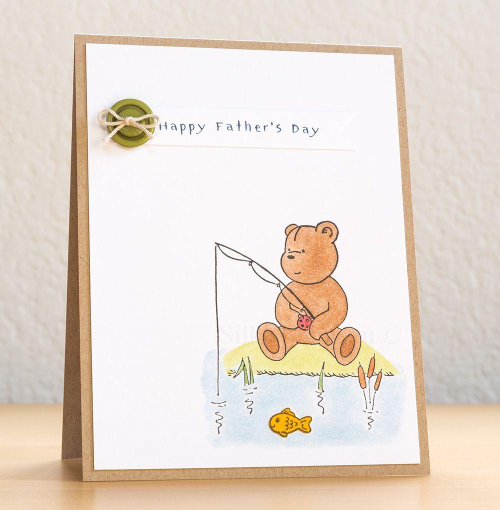 Fishing penny black bear fathers day card cards pinterest fishing penny black bear fathers day card kristyandbryce Choice Image