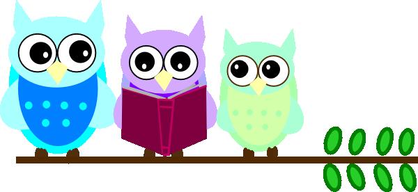 cute owl with books public domwin clip art owl family reading clip rh pinterest com Info Clip Art Classroom Classroom Newsletter Clip Art