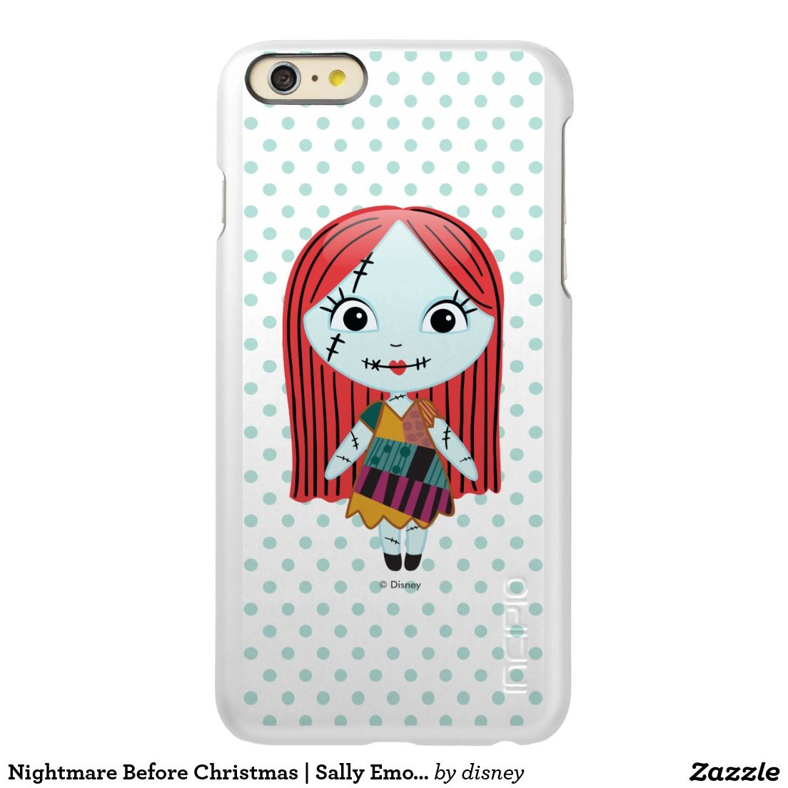 Nightmare Before Christmas   Sally Emoji Incipio Feather Shine ...