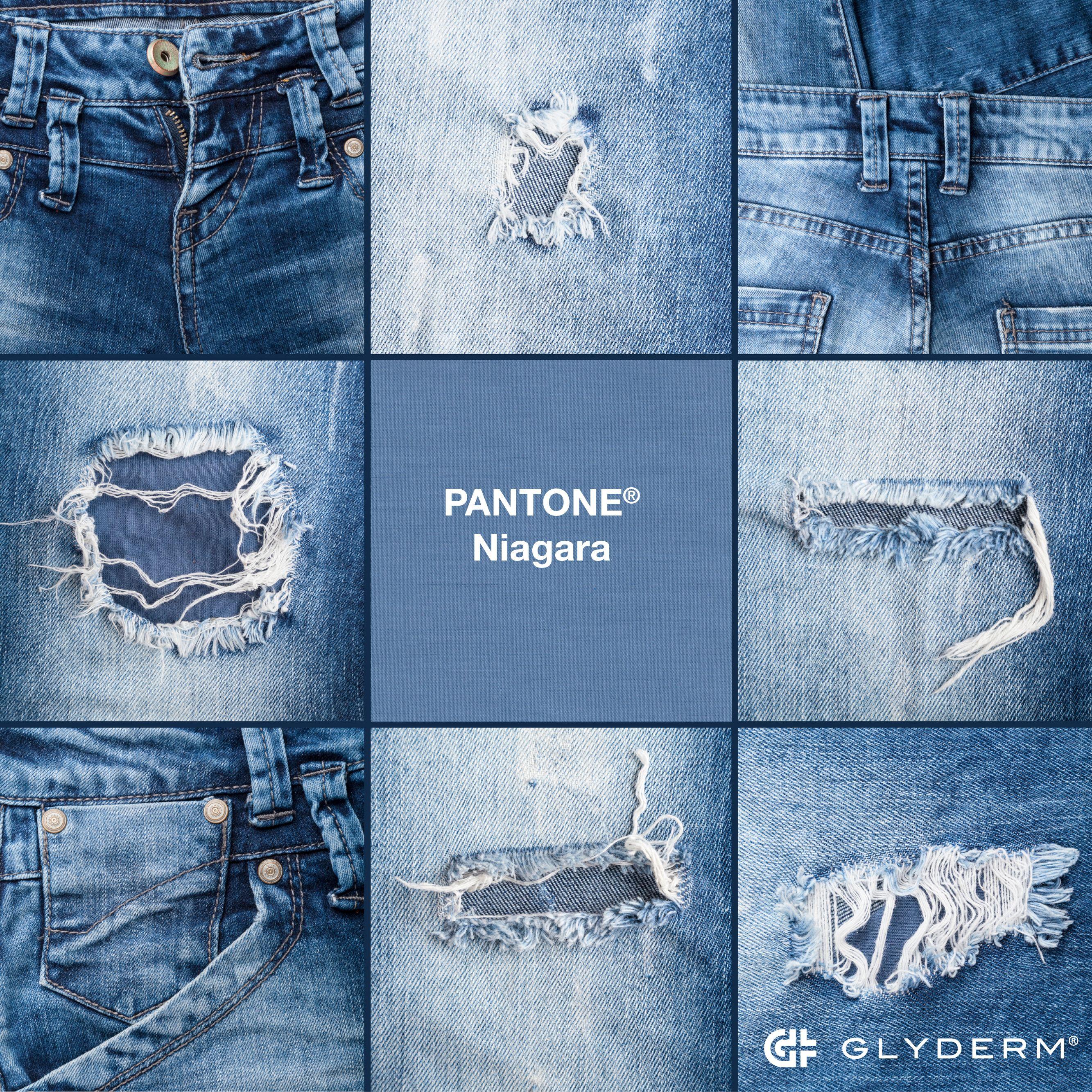 The Pantone Color Niagara A Classic Denim Like Blue That