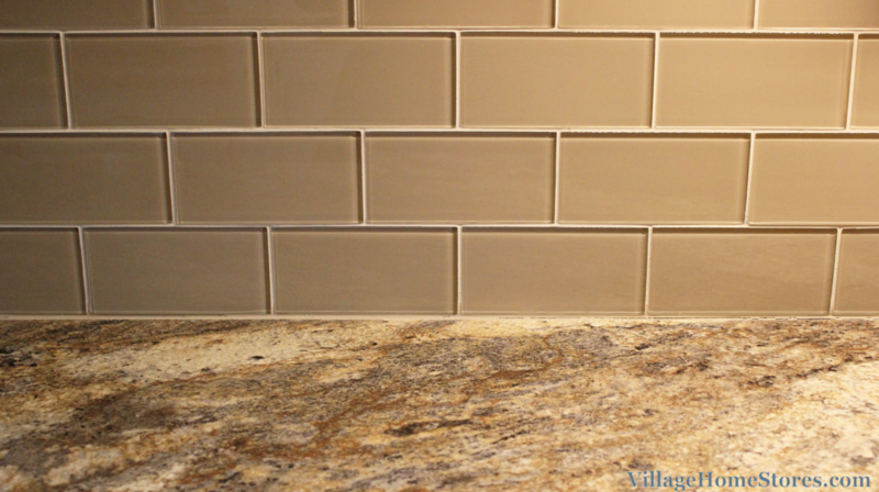 Glass subway tile colors