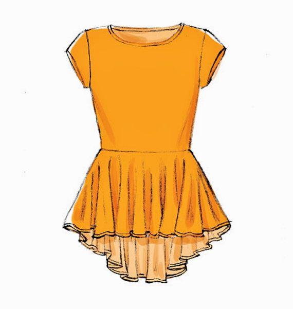 Tunic Tops Pattern, Peplum Top Pattern, Stretch Knit Top Pattern ...