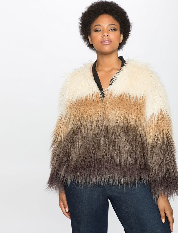 8eccd358dd7 Looking for a Faux Fur Jacket for the Fall  Here are 20 Plus Size Foxy