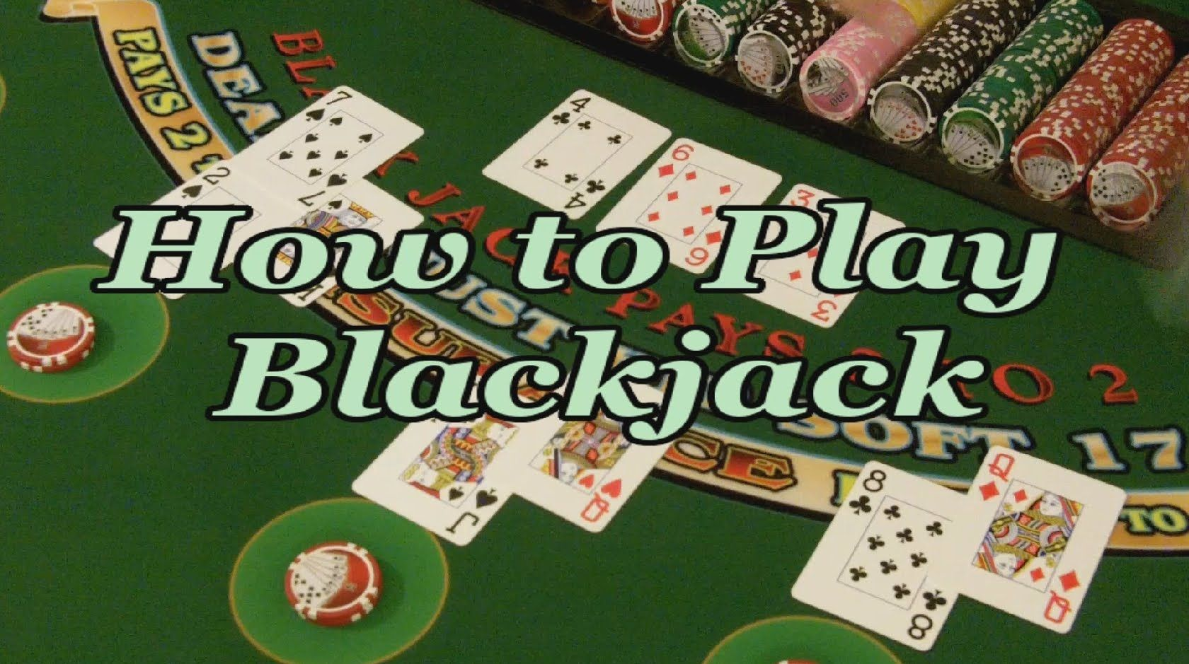How to Play Blackjack FULL VIDEO Play casino, Online