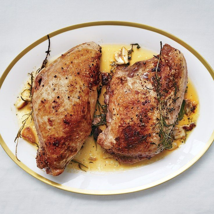 ButterRoasted Turkey Breasts Recipe Traditional