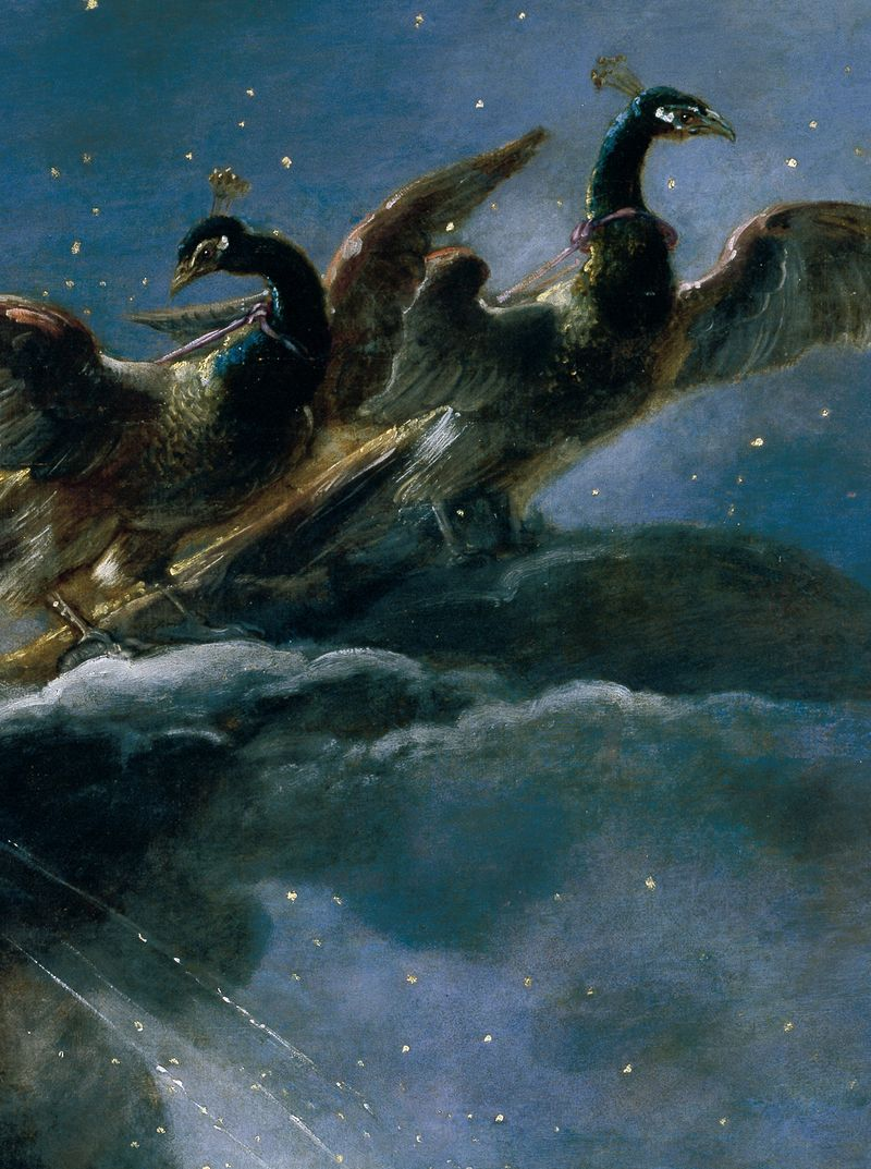 Detail from 'The Birth of the Milky Way' by Peter Paul Rubens, 1636-37.