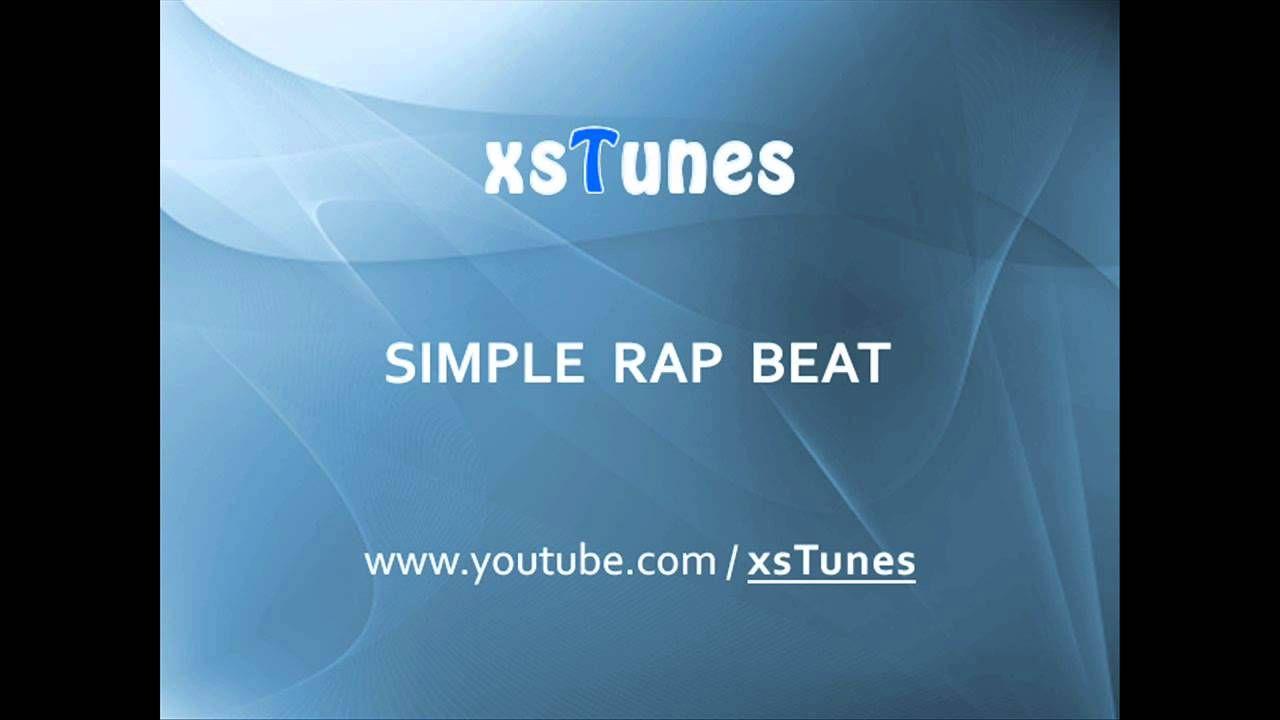 Simple Rap Beat [xsTunes] Background Music | RAPS | Rap beats, Rap