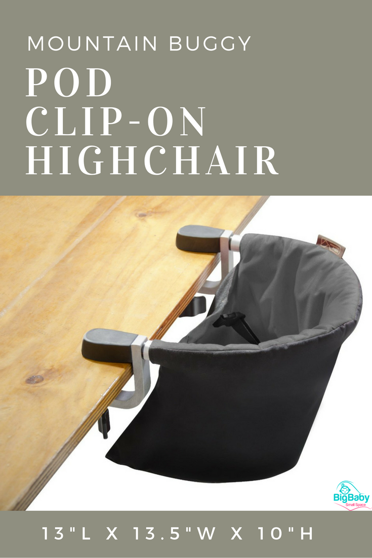 Mountain Buggy Pod Clip On Highchair Is Ready To Use At Your Convenienceu2026