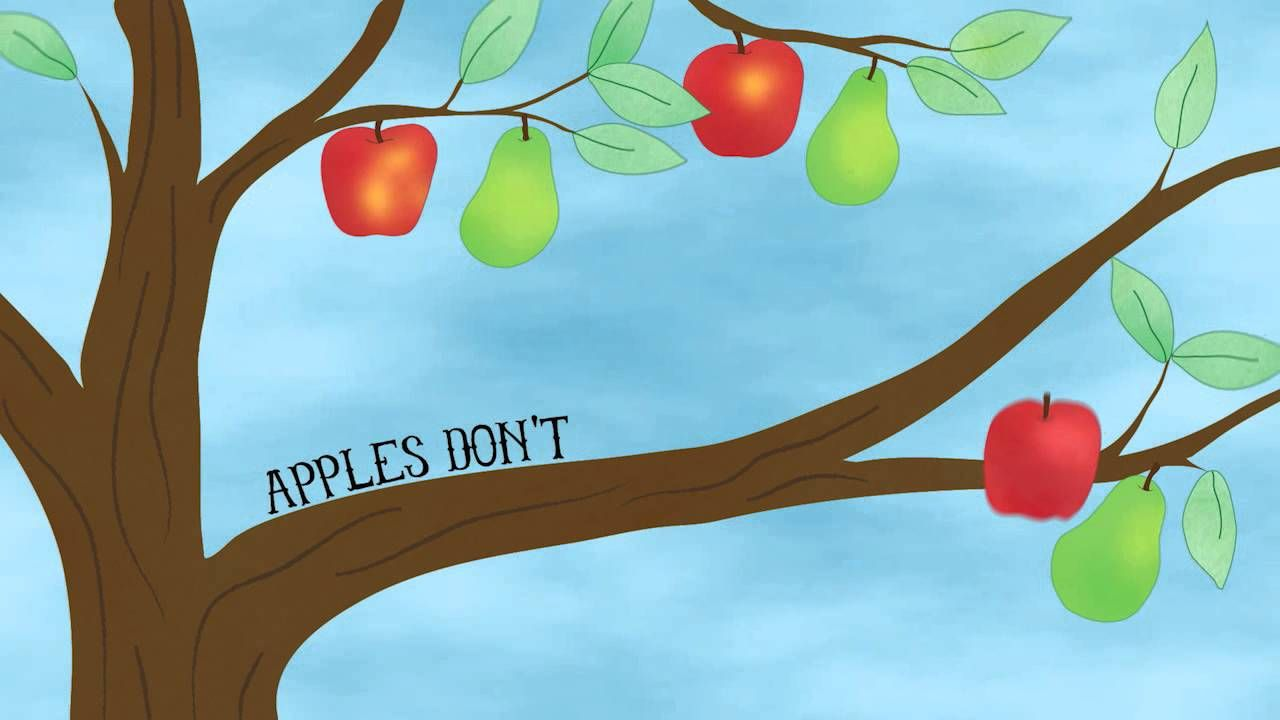 Good Fruit (Apples Don't Grow On Pear Trees) Rain for