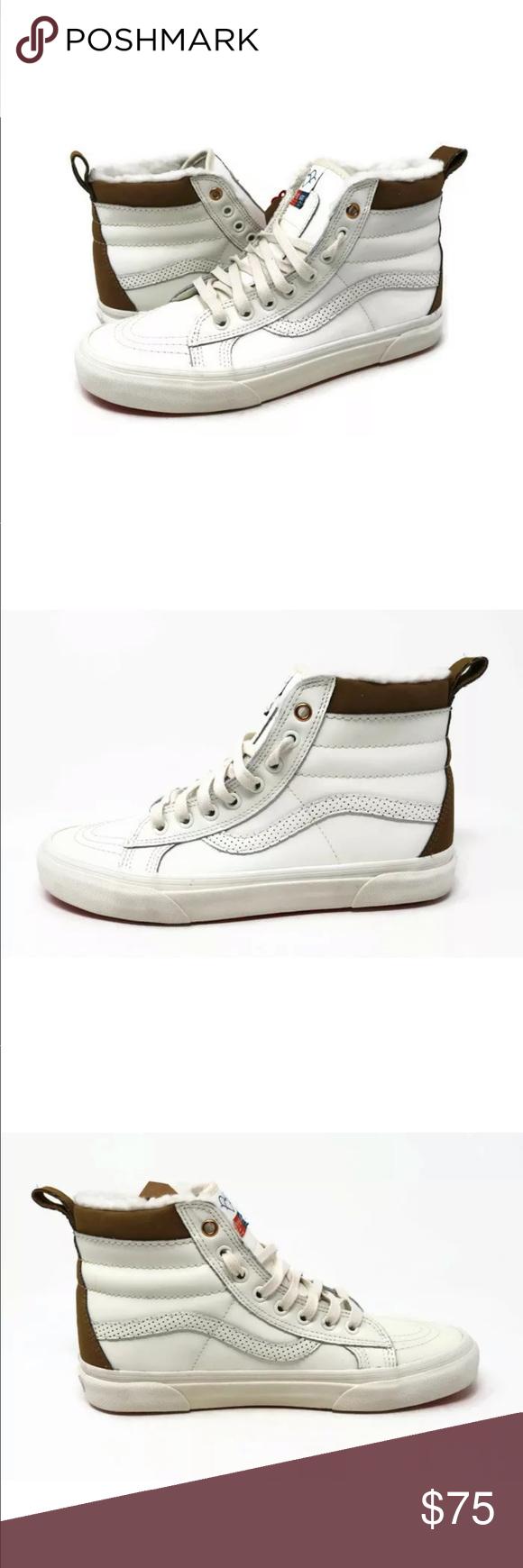 95f4841a34a Vans Sk8-Hi MTE Aimee Fuller White Skate Shoes Vans Sk8-Hi MTE Aimee ...